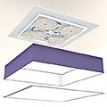 Lampenschirm LED Elektrik Rechteckig 900-1150